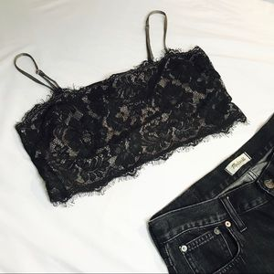 FP Cropped Lace Cami